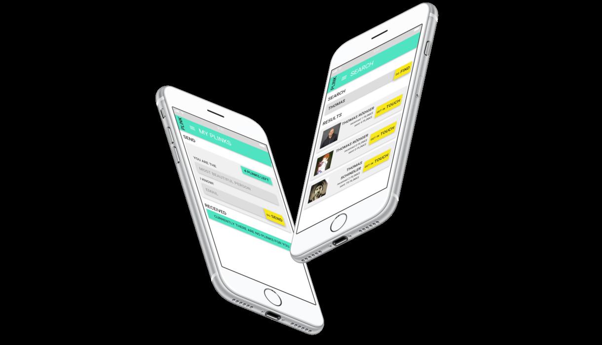 Plink App Screen